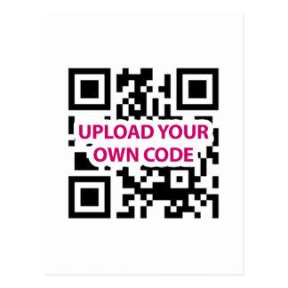 Personalizable del código de QR Postal