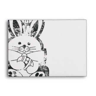 Personalizable del conejo de conejito de pascua de
