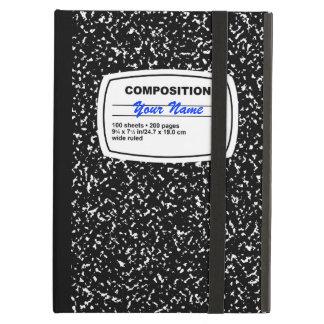 Personalizable del cuaderno de la composición