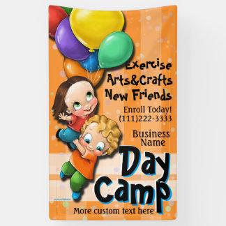 Personalizable del cuidado de niños del campamento lona