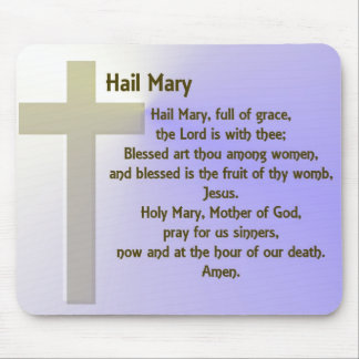 Personalizable del ~ de Maria del saludo Alfombrilla De Ratones