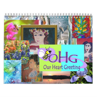 Personalizable del del calendario de los artista