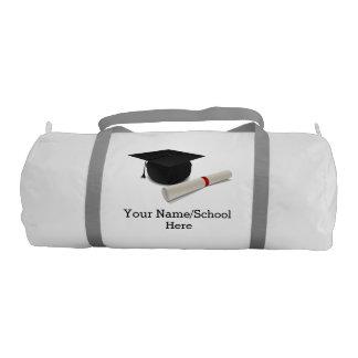 Personalizable del diploma del casquillo de la bolsa de deporte