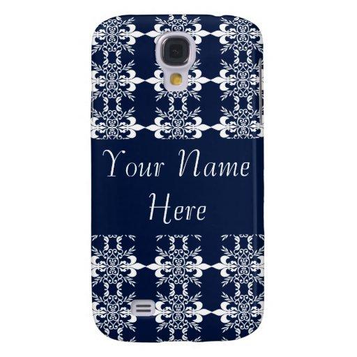 Personalizable del diseño del Flourish del azul y