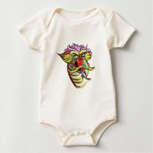 Personalizable del dragón y de la rana traje de bebé