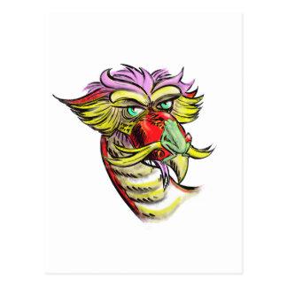 Personalizable del dragón y de la rana tarjetas postales
