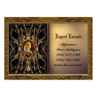 Personalizable del ébano de Sarashire Tarjetas De Visita Grandes