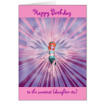 Personalizable del feliz cumpleaños de la nieta tarjeta