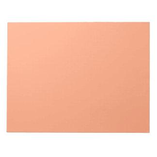 Personalizable del fondo del color del rosa de blocs de papel