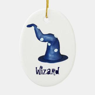 Personalizable del gorra de los magos ornamento para arbol de navidad