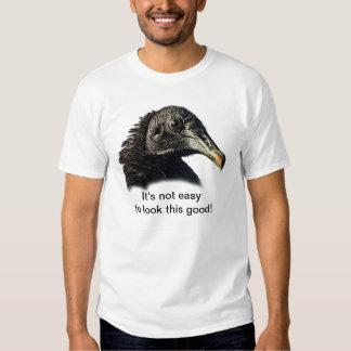 Personalizable del halcón del buitre negro poleras