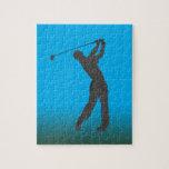 Personalizable del libertino del golf puzzle