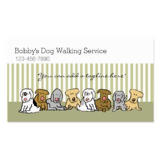 Personalizable del negocio del mascota del tarjetas de visita
