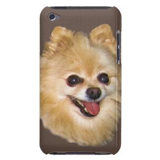 Personalizable del perro de Pomeranian Carcasa Para iPod