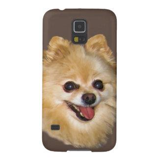 Personalizable del perro de Pomeranian Carcasas Para Galaxy S5