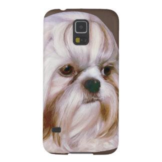 Personalizable del perro de Shih Tzu Carcasa De Galaxy S5