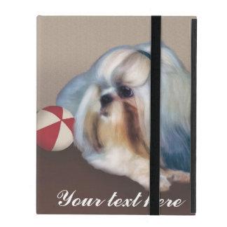 Personalizable del perro de Shih Tzu iPad Cárcasa