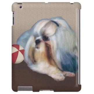 Personalizable del perro de Shih Tzu Funda Para iPad