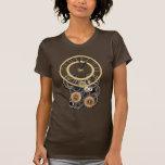 Personalizable del reloj de Steampunk del vintage Camiseta