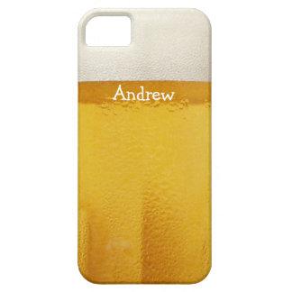 Personalizable del vidrio de cerveza iPhone 5 funda