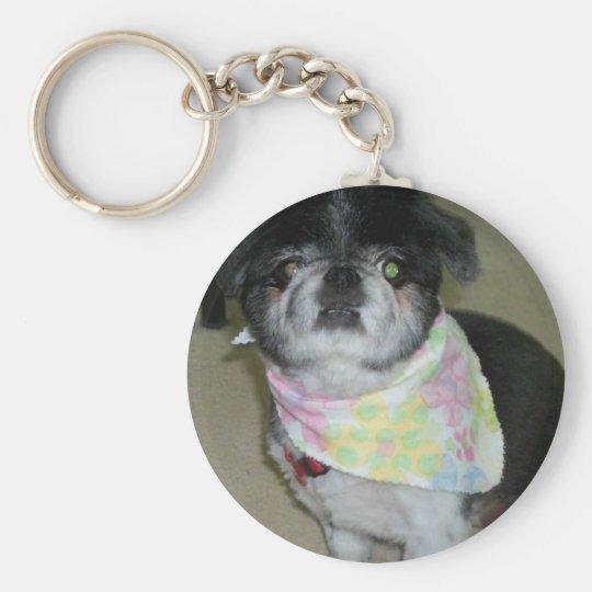 Personalizable Dog Keychain