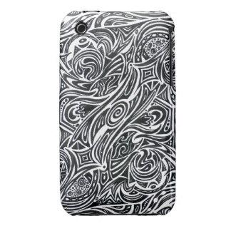 Personalizable el del caso el del iPhone 3 de iPhone 3 Case-Mate Carcasa