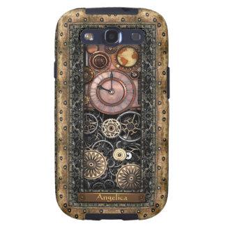 Personalizable elegante de Steampunk Galaxy S3 Funda
