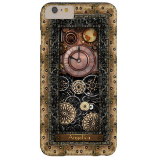 Personalizable elegante de Steampunk Funda Barely There iPhone 6 Plus