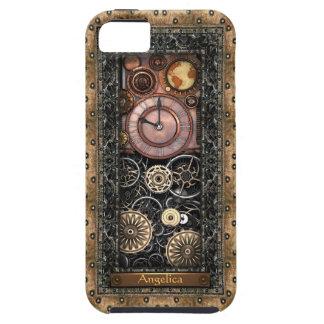 Personalizable elegante de Steampunk iPhone 5 Fundas