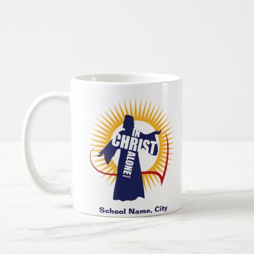 Personalizable en la taza sola de Cristo