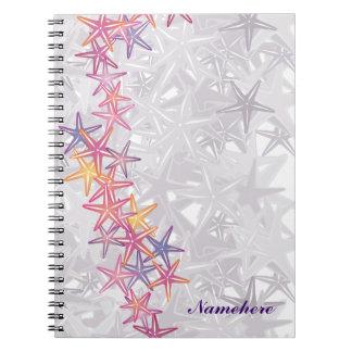 Personalizable: Estrellas de mar Notebook