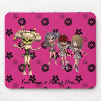 Personalizable Fairy Friends Mouse Pad Mouse Mat