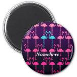 Personalizable: Flamenco rosado Iman De Frigorífico