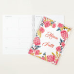 "Personalizable Floral Girly  Romantic Planner<br><div class=""desc"">Personalizable Floral Girly  Romantic Planner</div>"