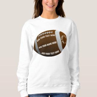 Personalizable Football Sweatshirt