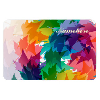 Personalizable: Frondoso Rectangle Magnet
