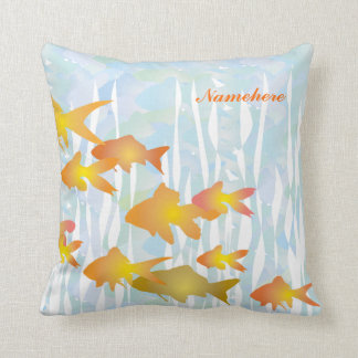 Personalizable: Goldfish Cojin