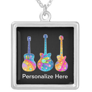 Personalizable GUITARS NECKLACE