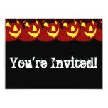 "Personalizable Halloween Jack O Lantern Invitation 5"" X 7"" Invitation Card"