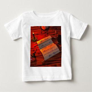 Personalizable Handwritten Letter Baby T-Shirt