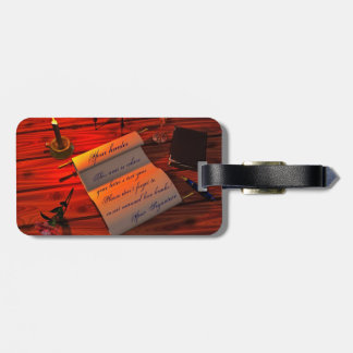 Personalizable Handwritten Letter Luggage Tags