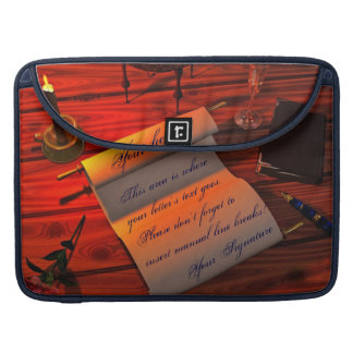 Personalizable Handwritten Letter Sleeve For MacBooks