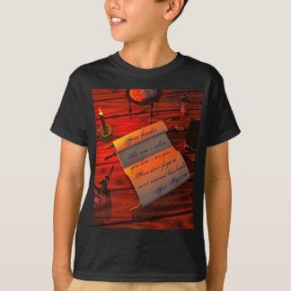 Personalizable Handwritten Letter T-Shirt