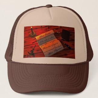 Personalizable Handwritten Letter Trucker Hat