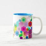 Personalizable: Hexagonal Taza De Café