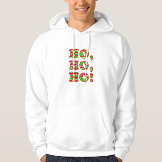 Personalizable HO, HO, HO! CHRISTMAS HOODIES TOPS
