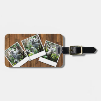 Personalizable Instant Multi Photo Frame Tag For Luggage