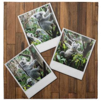 Personalizable Instant Multi Photo Frame Napkin