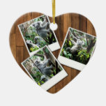 Personalizable Instant Multi Photo Frame Christmas Ornaments