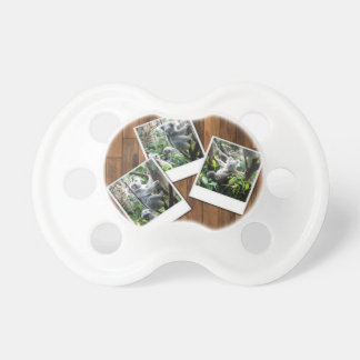 Personalizable Instant Multi Photo Frame Pacifier